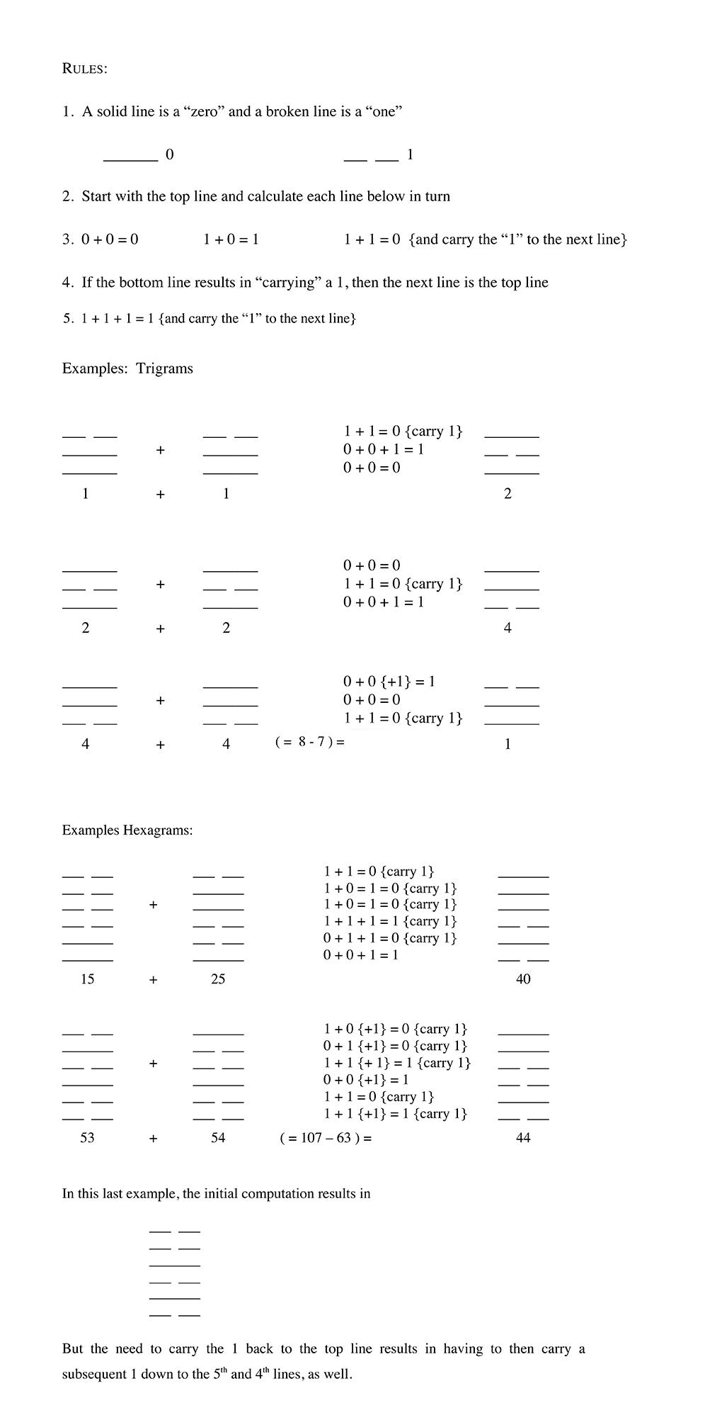 addendum math